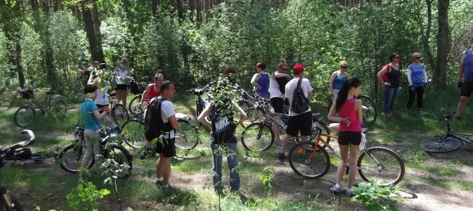 Wycieczka rowerowa do Podkowy Leśnej – zaczynamy sezon 2021, sobota 15 maja