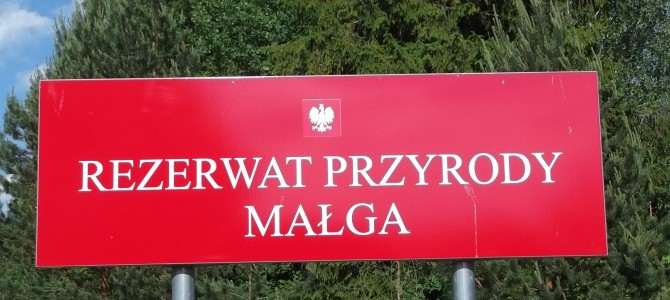 Rezerwat przyrody Małga – dwudniowa wycieczka rowerowa