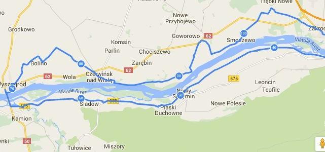 Rowerowa Niedziela – Czerwińsk nad Wisłą – 17 lipca