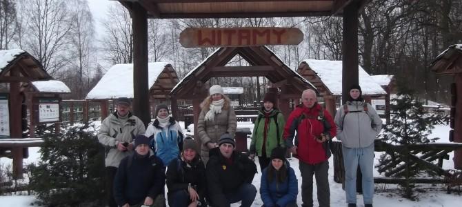 Zdjęcia z wyprawy na trasie Zielonka – Kobyłka w sobotę 14 stycznia