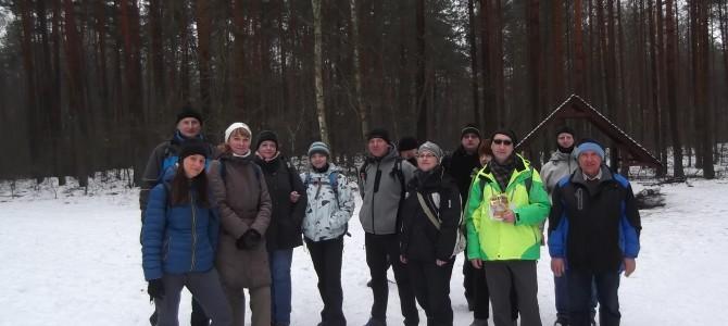 Zdjęcia z wyprawy pieszej Zimowa Puszcza Kampinoska w sobotę 21 stycznia