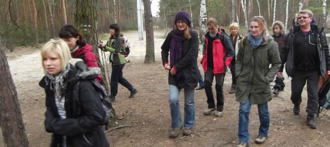 Wyprawa przez Puszczę Kampinoską, niedziela 2 kwietnia