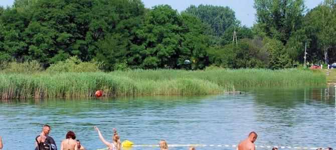 Odkrywamy kąpieliska w okolicach Warszawy, wycieczka rowerowa, niedziela 30 lipca