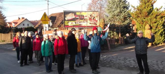Wycieczka piesza do Nieporętu, sobota 24 listopada