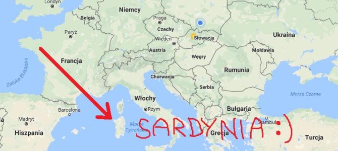 Łazik na Sardynii