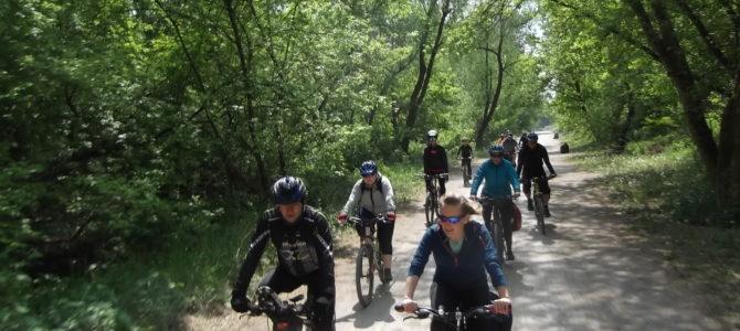 Rowerem do Podkowy Leśnej, sobota 25 maja