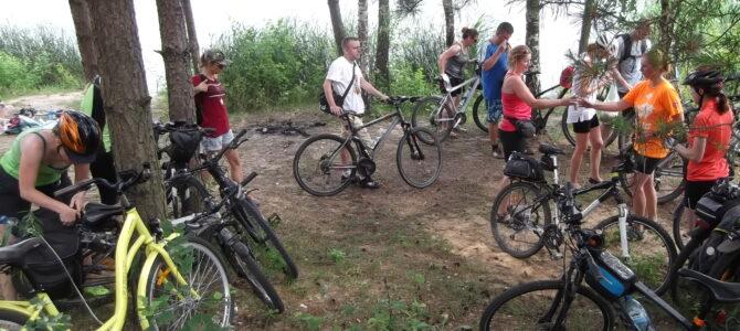 Integracja nad wodą, wycieczka rowerowa, niedziela 20 czerwca