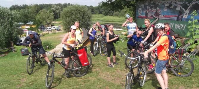 Wiosna nad Bugiem z Grupą Łazik, wycieczka rowerowa, sobota 5 czerwca