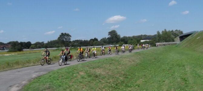 Grupa Łazik – Wiosna nad Wkrą, wycieczka rowerowa, niedziela 6 czerwca