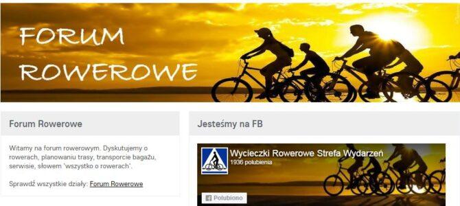 Forum Rowerowe – polecamy nowe tematy